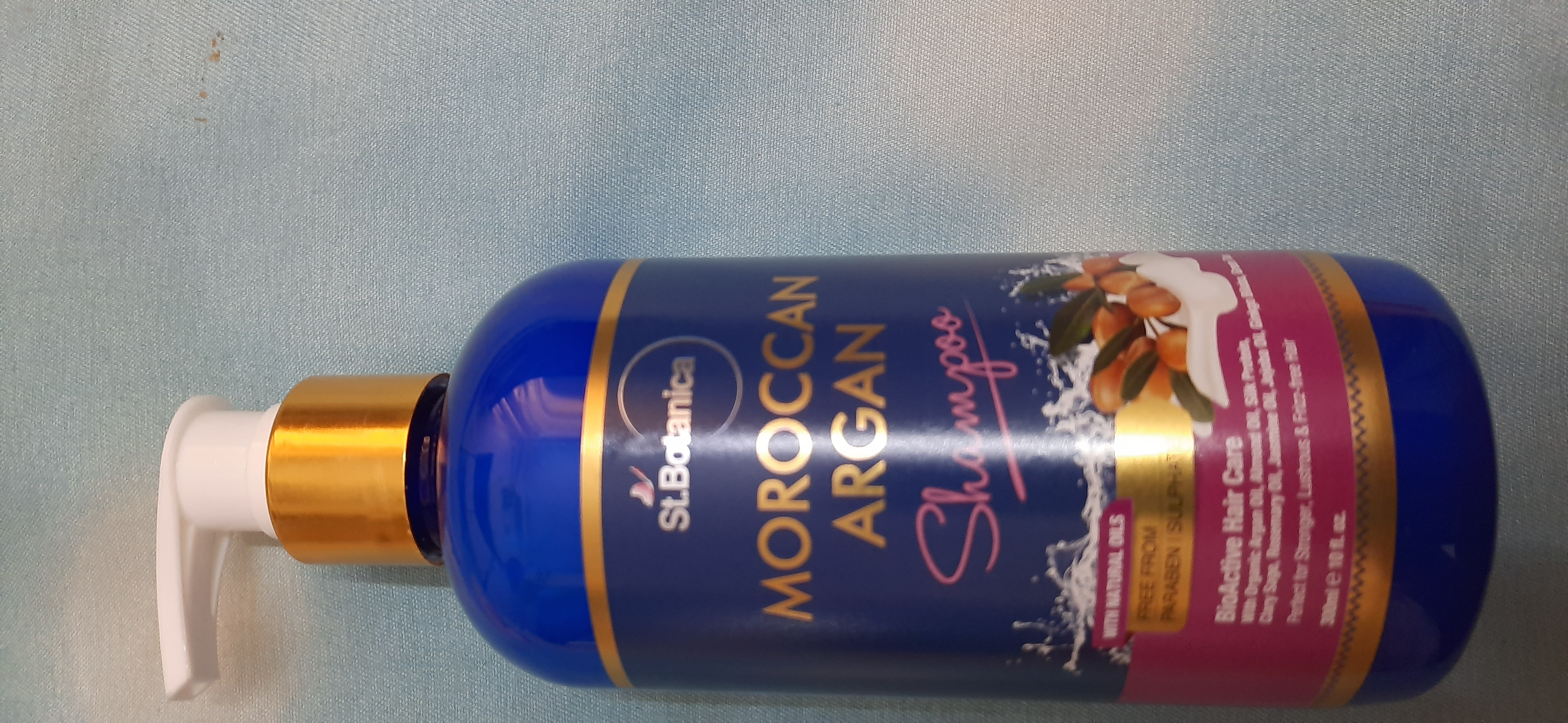 StBotanica Moroccan Argan Hair Shampoo-Must try shampoo-By nikitha_sancheti