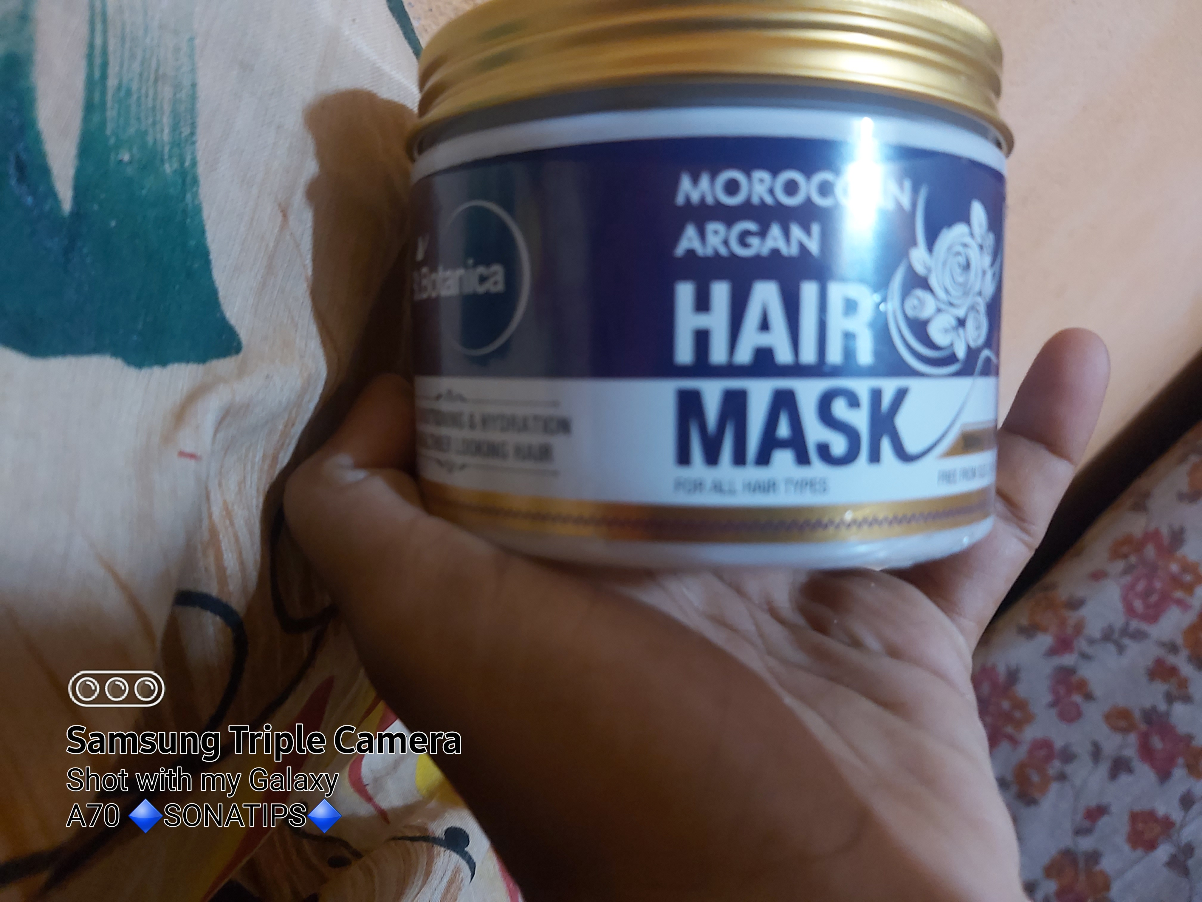 St.Botanica Moroccan Argan Hair Mask-Mask is good-By sonatips
