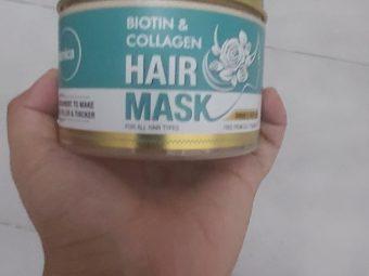 St.Botanica Biotin & Collagen Hair Mask -Makes frizzy hair manageable-By heenakiran