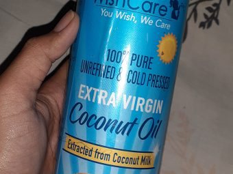 WishCare Cold Pressed Extra Virgin Coconut Oil -One of the best oil!-By somya_jaiswal