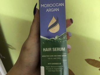 St.Botanica Moroccan Argan Hair Serum -Amazing product-By bhavya_atreja