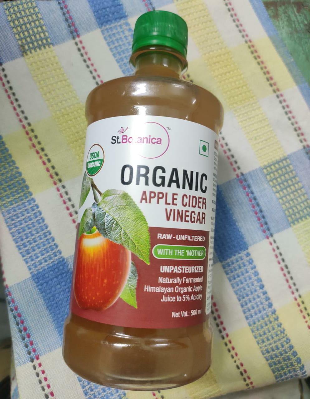 St.Botanica USDA Organic Apple Cider Vinegar -Worth Buying-By sushreetapal