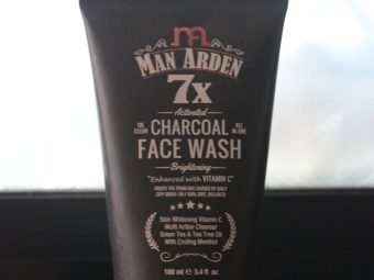 Man Arden 7X Activated Charcoal Face Wash Brightening -Wow product-By chiraghodake