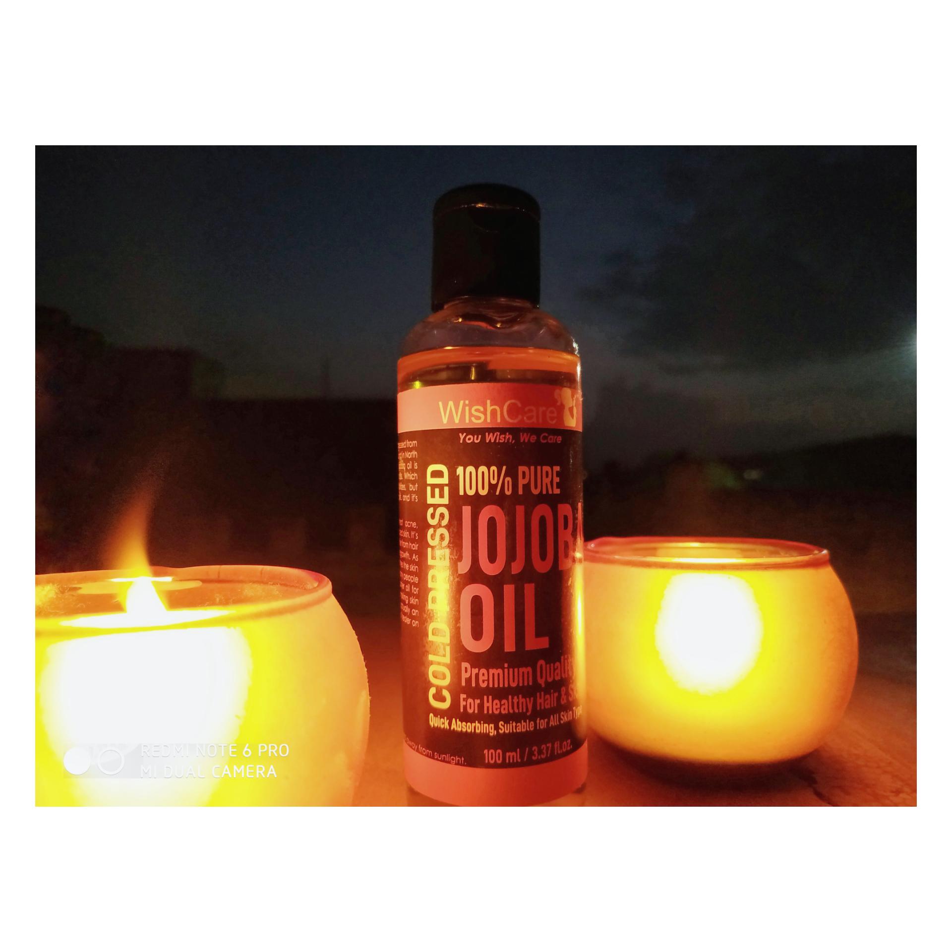 WishCare Pure Cold Pressed Jojoba Oil-All purpose moisturization-By taniyajoshi13