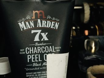 Man Arden 7X Activated Charcoal Peel Off Mask -Awesome product-By geeta_burman