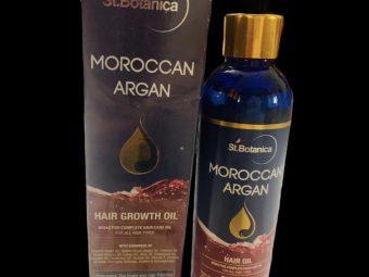 St.Botanica Moroccan Argan Hair Growth Oil -Best Oil for Healthy Hair Growth-By rupakshi