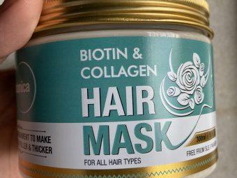 St.Botanica Biotin & Collagen Hair Mask -Nourishments to hair-By dinkle_gosrani