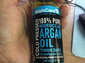 WishCare Pure Cold Pressed Moroccan Argan Oil -Amazing Argan oil-By jaffygarg