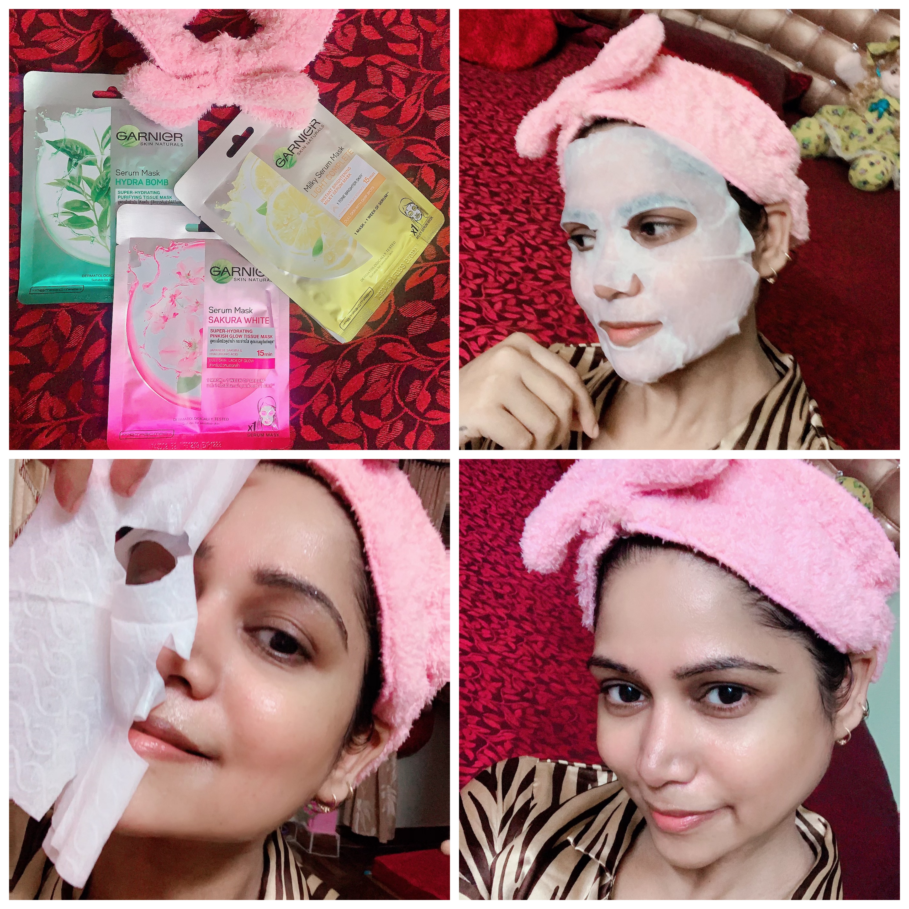 Garnier Skin Naturals Hydra Bomb Serum Mask-Best Hydrating Sheet Mask for Dull and Tired Skin-By mahekhanitha