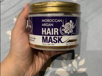 St.Botanica Moroccan Argan Hair Mask pic 1-Amazing product-By shivani_makkar