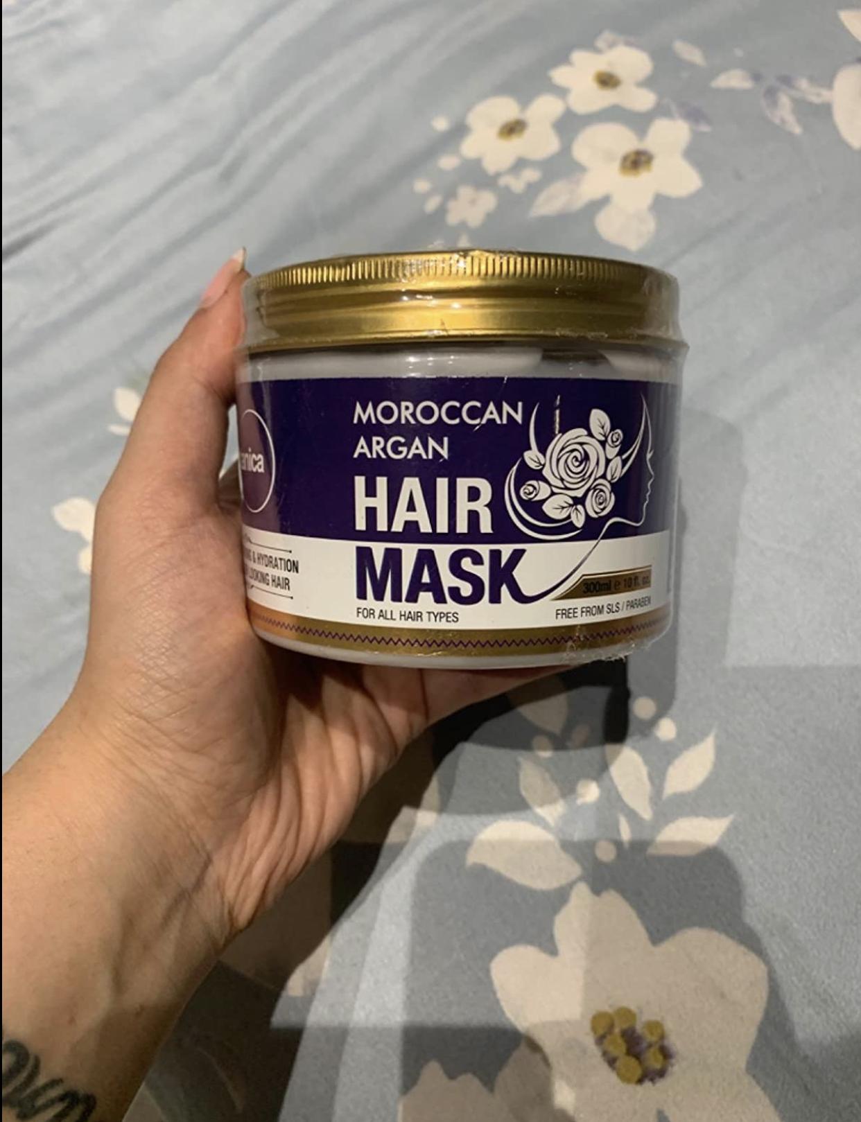 St.Botanica Moroccan Argan Hair Mask-Amazing product-By shivani_makkar-1
