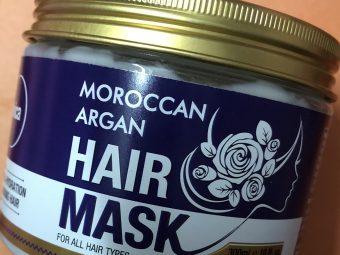 St.Botanica Moroccan Argan Hair Mask pic 1-Amazing Hair Mask-By ramanmakeovers