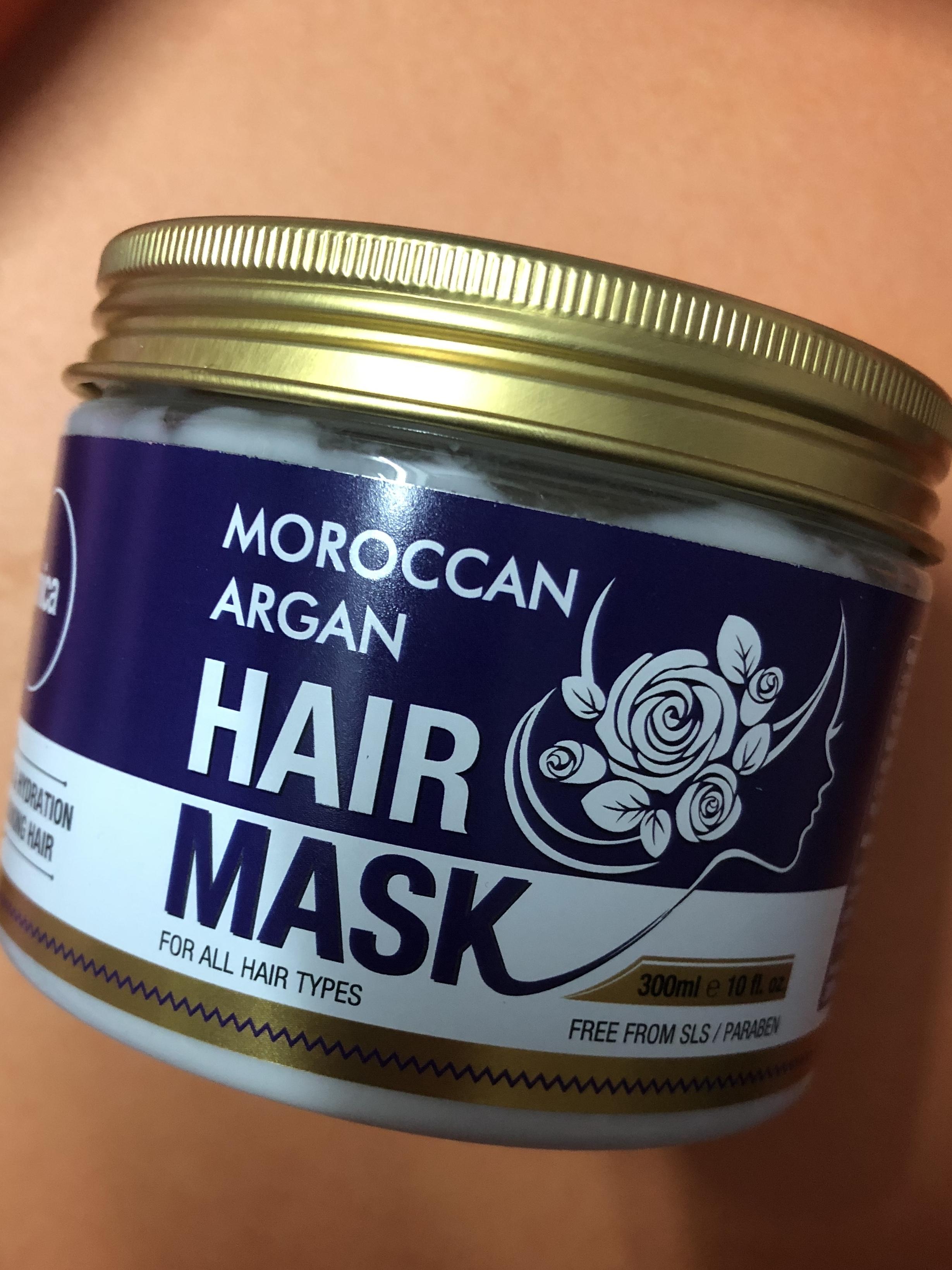 St.Botanica Moroccan Argan Hair Mask-Amazing Hair Mask-By ramanmakeovers-1