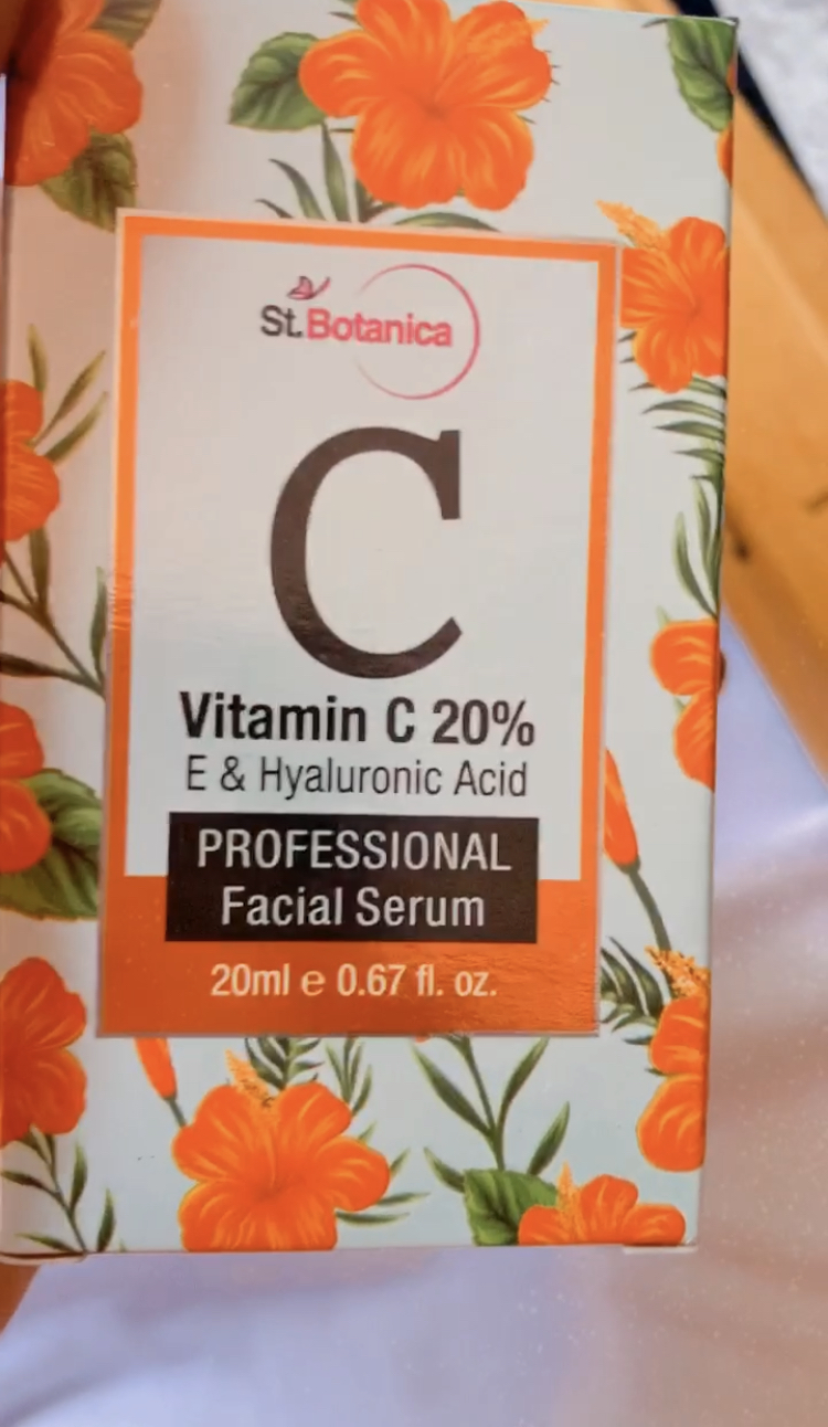 StBotanica Vitamin C 20%  Vitamin E & Hyaluronic Acid Professional Facial Serum-No words for this product…its amazing-By snehaluttekar