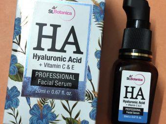St.Botanica Hyaluronic Acid Facial Serum + Vitamin C, E pic 1-Best Serum-By ramanmakeovers