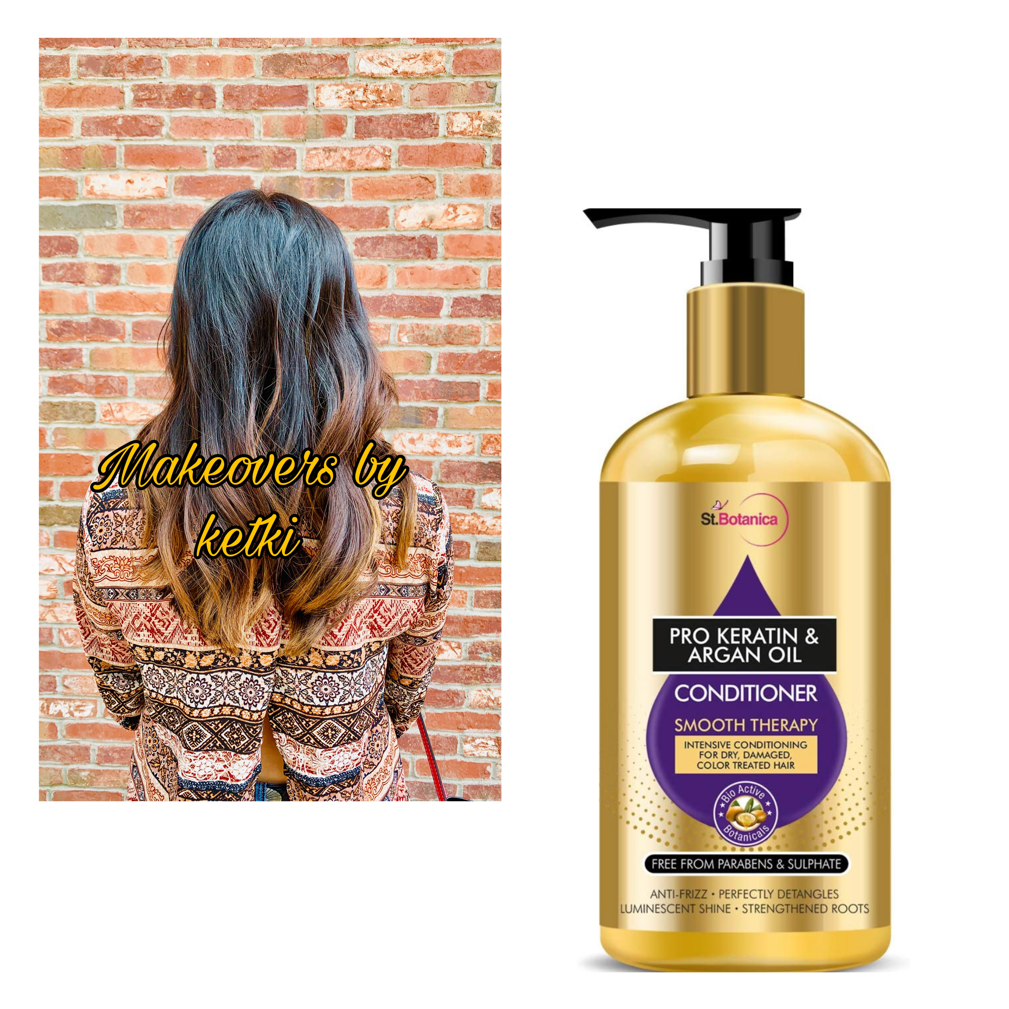 StBotanica Pro Keratin & Argan Oil Conditioner -good product as a lightweight conditioner-By ketki1504