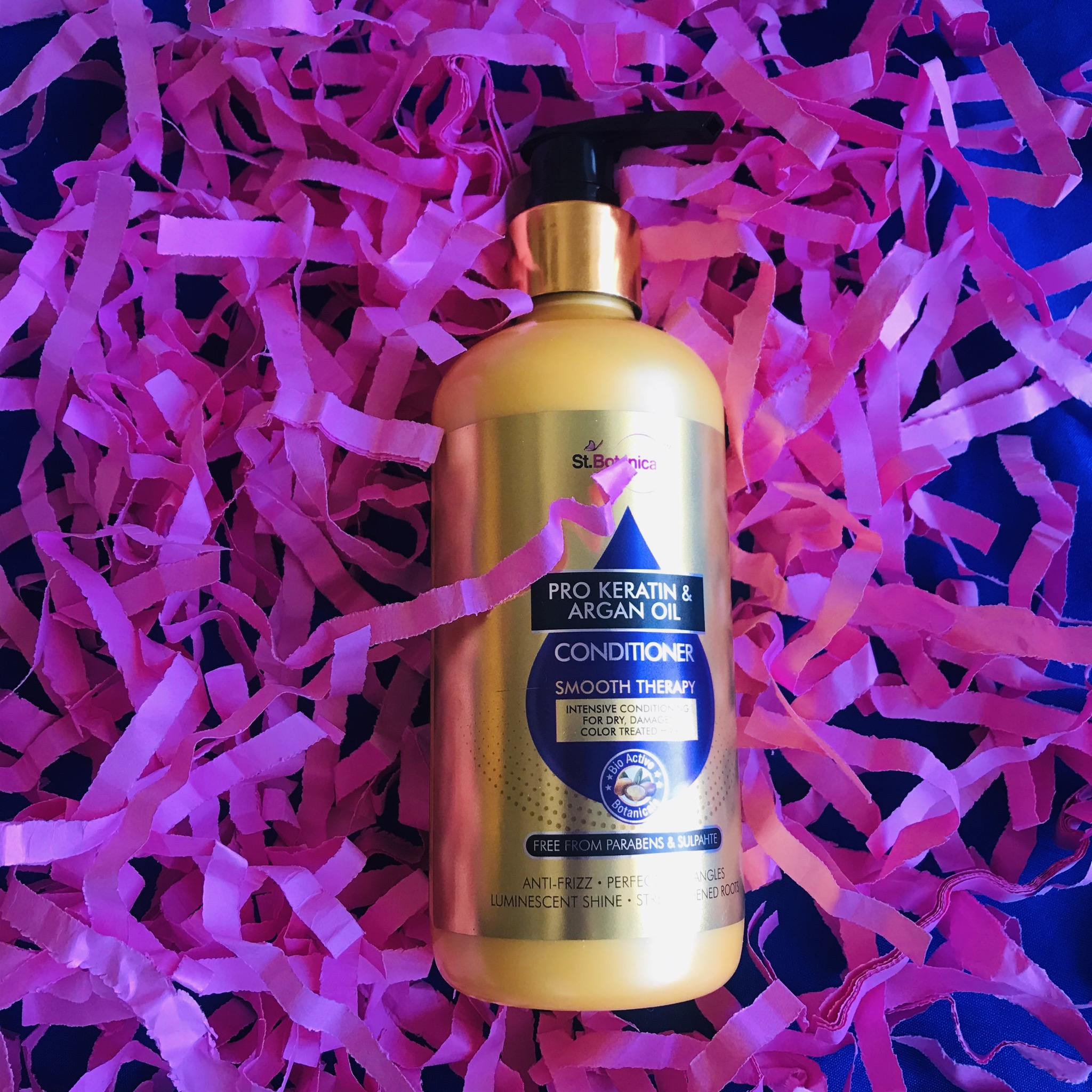 StBotanica Pro Keratin & Argan Oil Conditioner-Best for chemical treated hairs-By highlight_with_blush