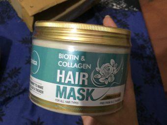 St.Botanica Biotin & Collagen Hair Mask -Soft, shiny and moisturised hair-By arpita_pal