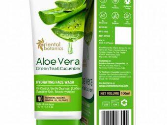 Oriental Botanics Aloe Vera, Green Tea & Cucumber Face Mask -Amazing one-By aarti_nimani_