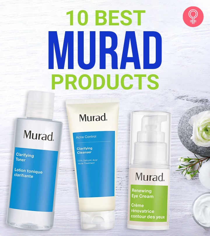 The 10 Best Murad Products You Need To Try Out In 2020