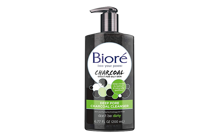 Biore Deep Pore Charcoal Cleanser