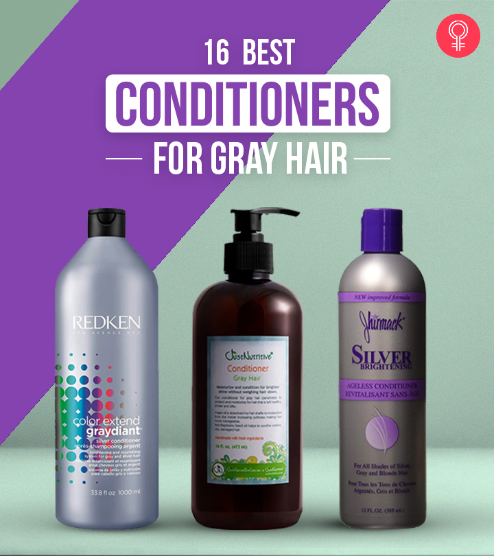16 Best Conditioners For Gray Hair