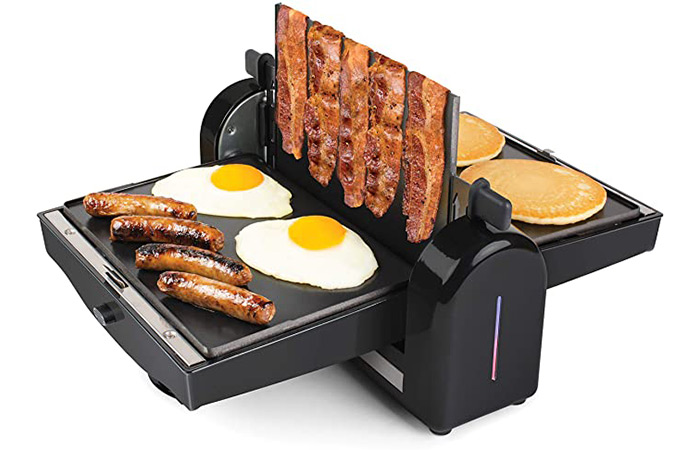 Home Craft FBG2 Nonstick Electric Bacon Press