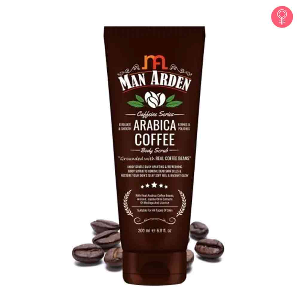 Man Arden Caffeine Series Arabica Coffee Body Scrub