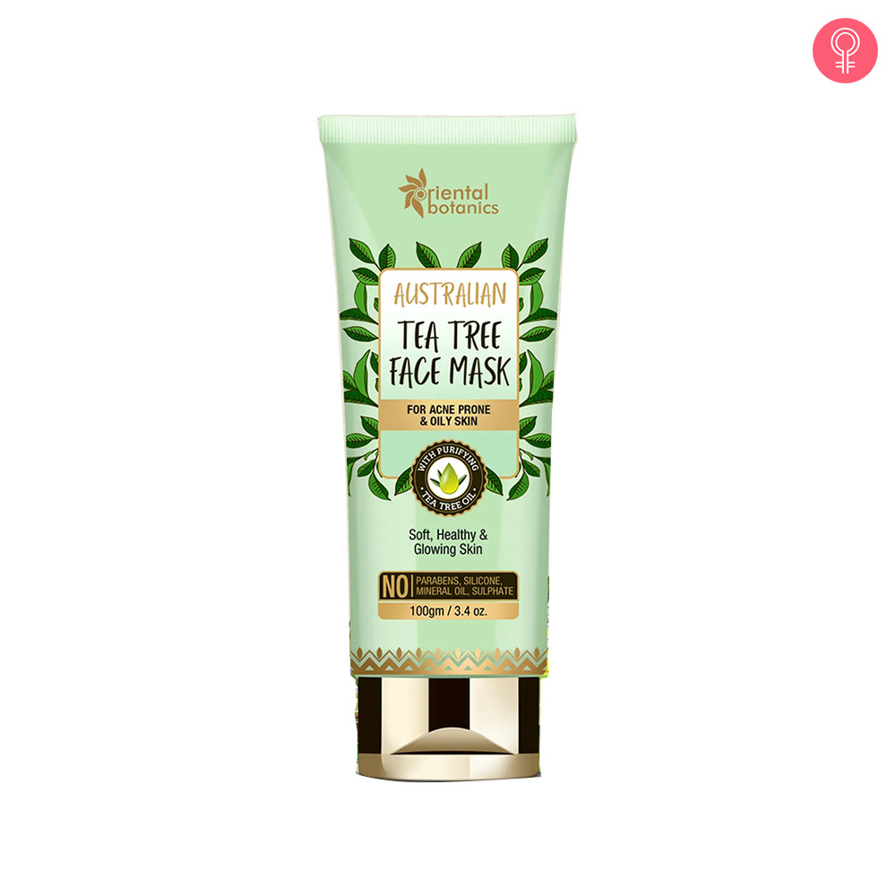 Oriental Botanics Australian Tea Tree Face Mask
