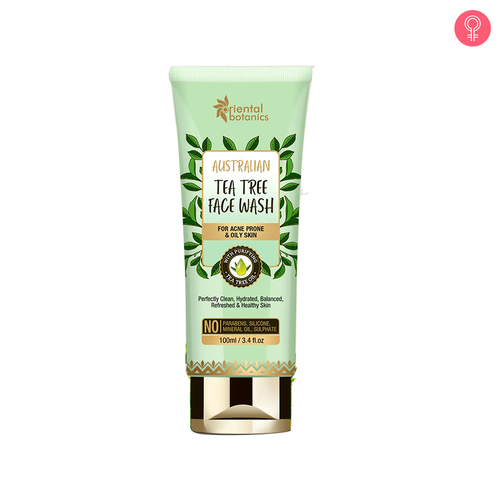 Oriental Botanics Australian Tea Tree Face Wash