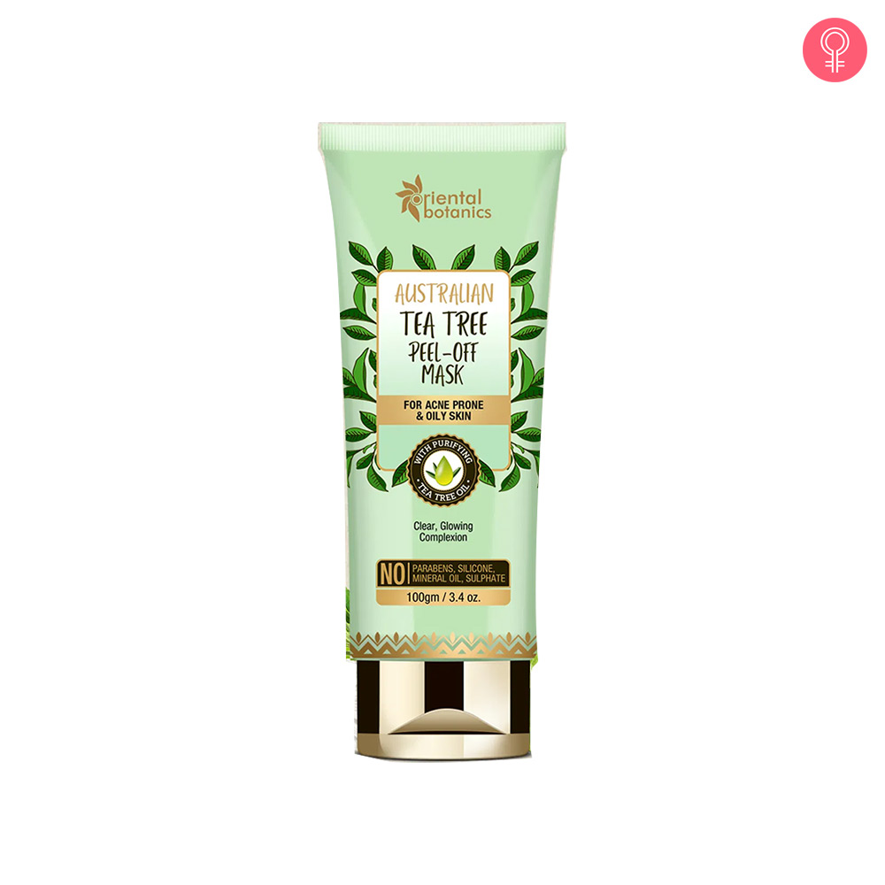 Oriental Botanics Australian Tea Tree Peel Off Mask