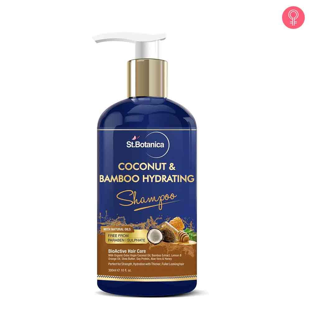 St.Botanica Coconut & Bamboo Hydrating Shampoo