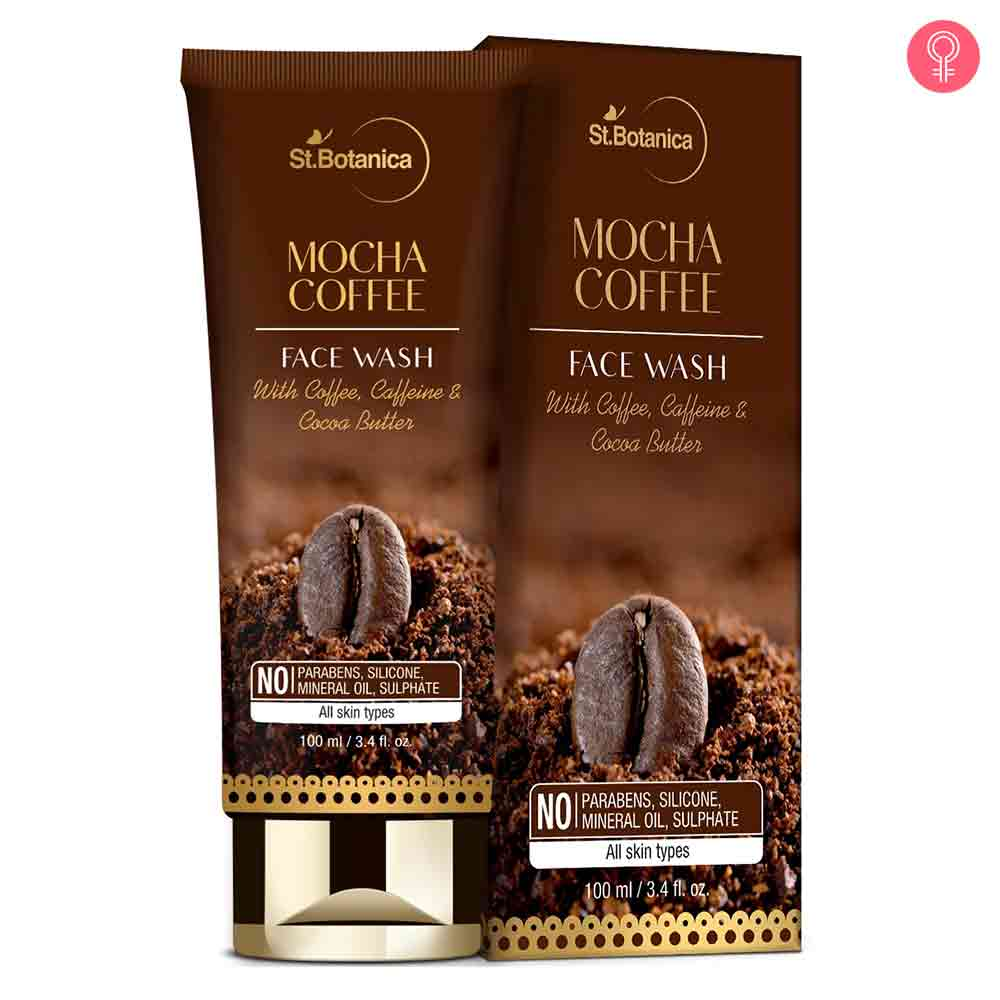 St.Botanica Mocha Coffee Face Wash