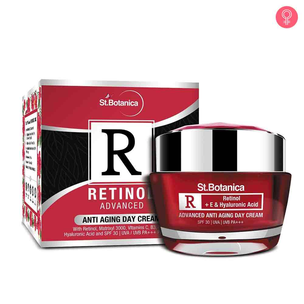 St.Botanica Retinol Advanced Anti Aging Day Cream SPF 30