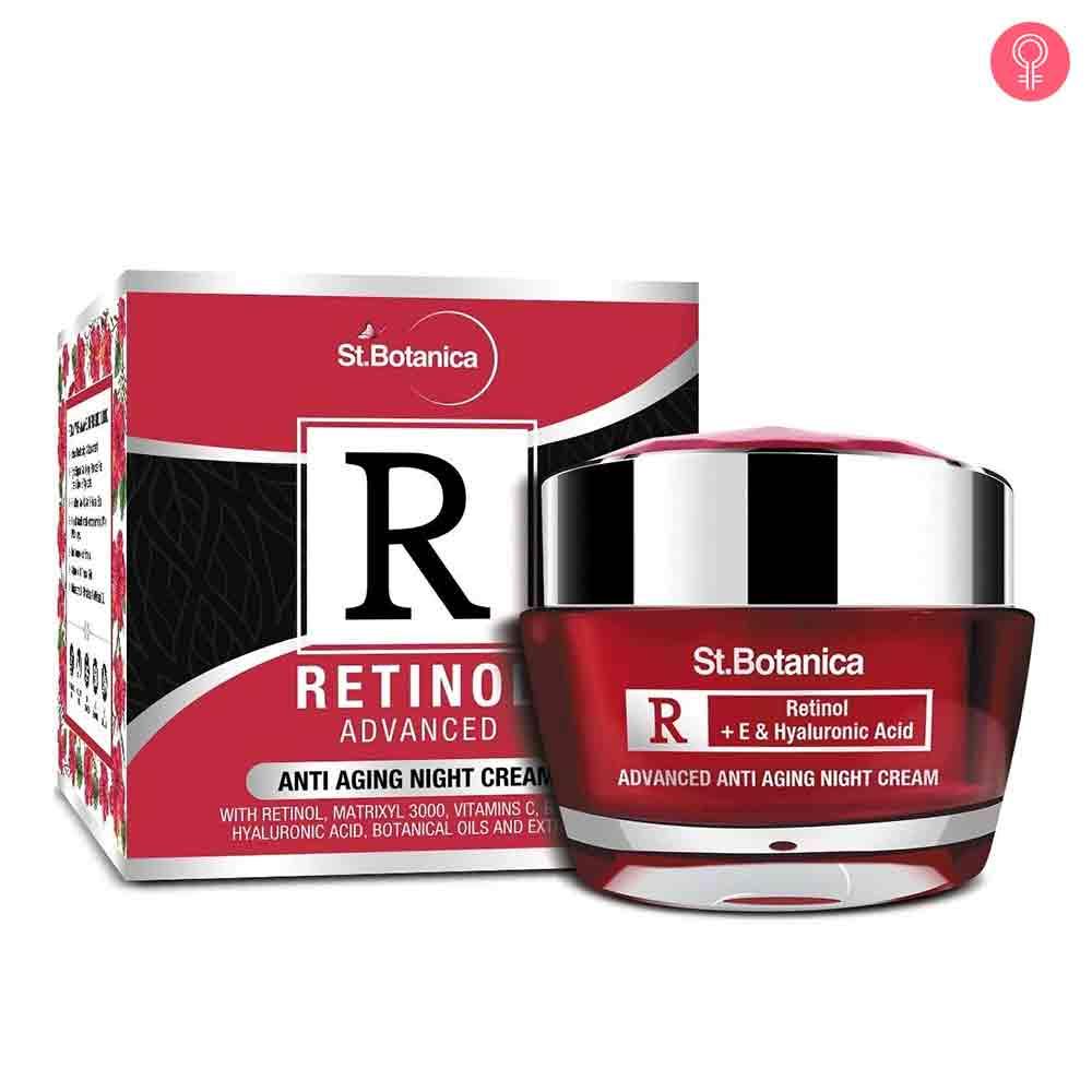 St.Botanica Retinol Advanced Anti Aging Night Cream