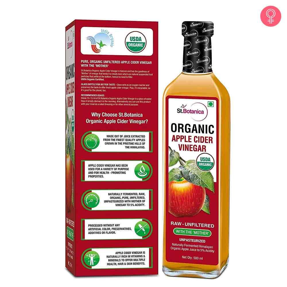 St.Botanica USDA Organic Apple Cider Vinegar