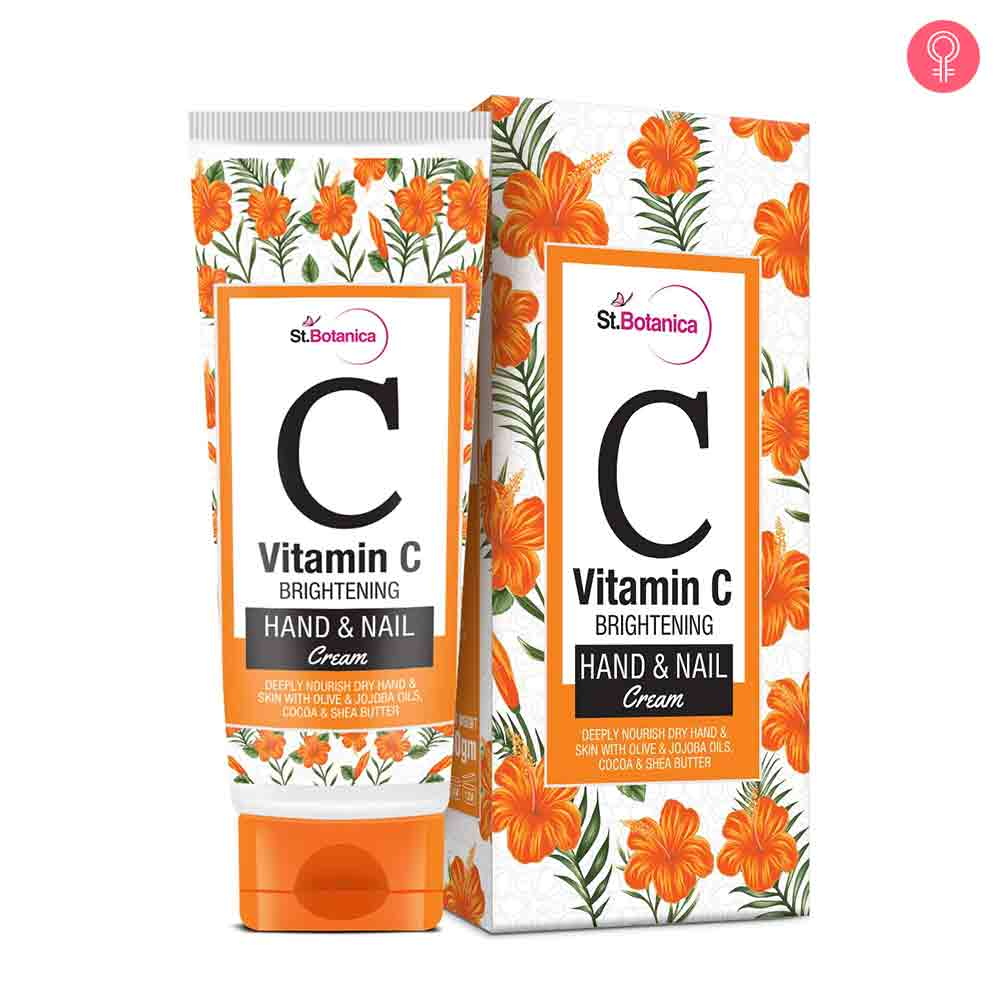 St.Botanica Vitamin C Brightening Hand And Nail Cream