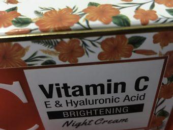 St.Botanica Vitamin C Brightening Night Cream -My perfect night routine cream-By azad.sherni