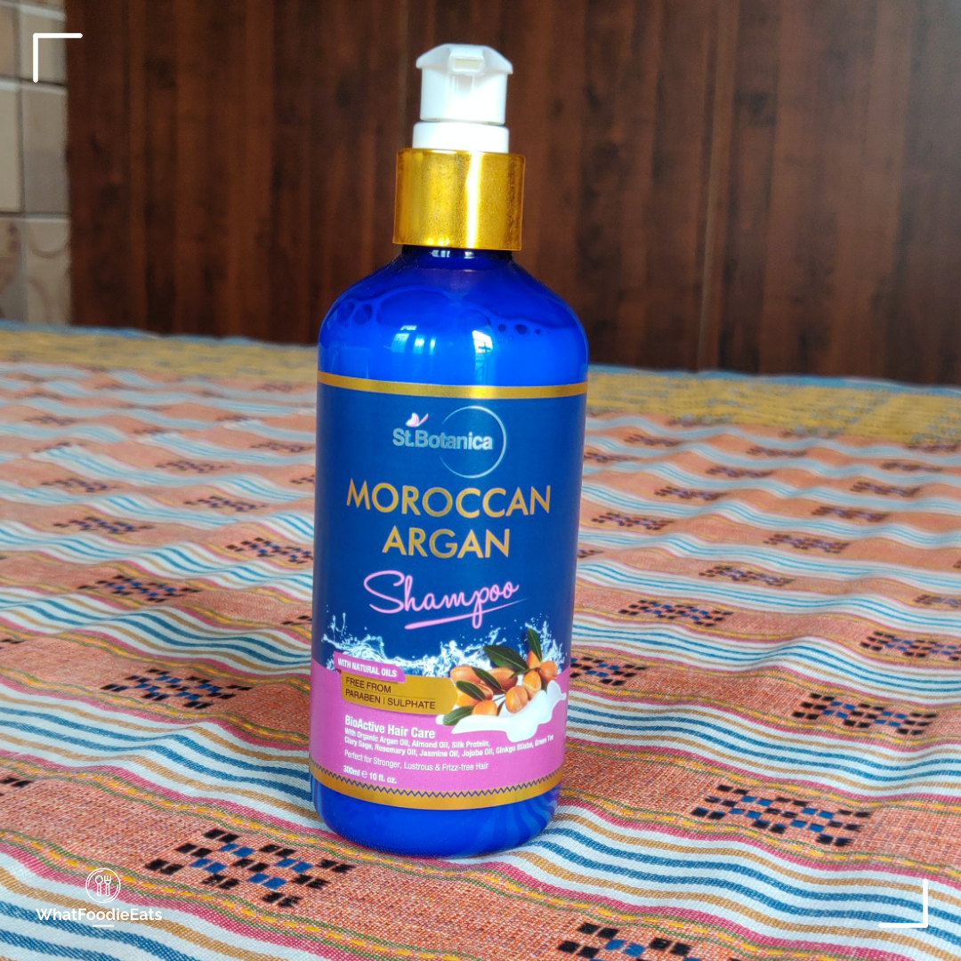 StBotanica Moroccan Argan Hair Shampoo-best Shampoo for all hair type-By cheshtadhamija-2
