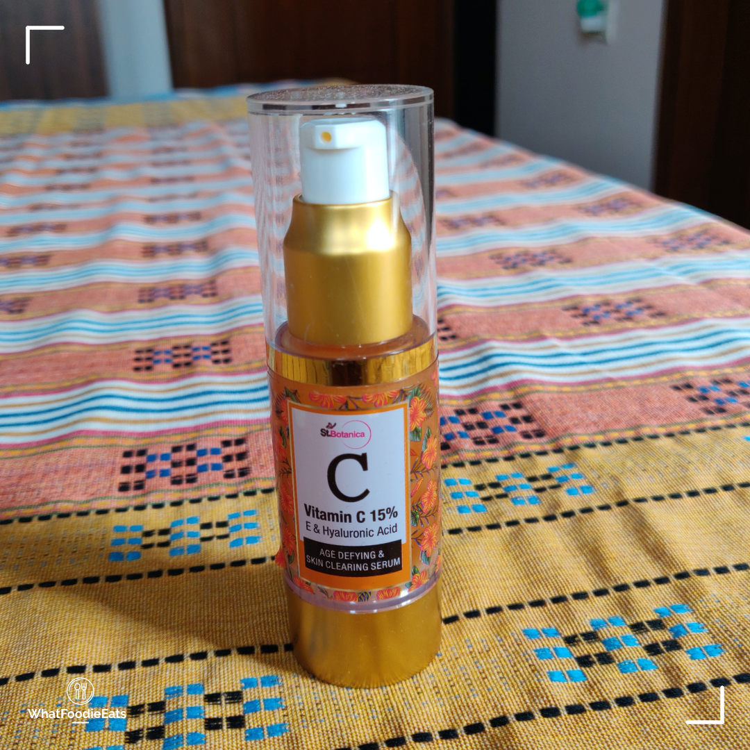 St.Botanica Vitamin C 15% Age Defying & Skin Clearing Serum-Best purchase I have ever made-By cheshtadhamija