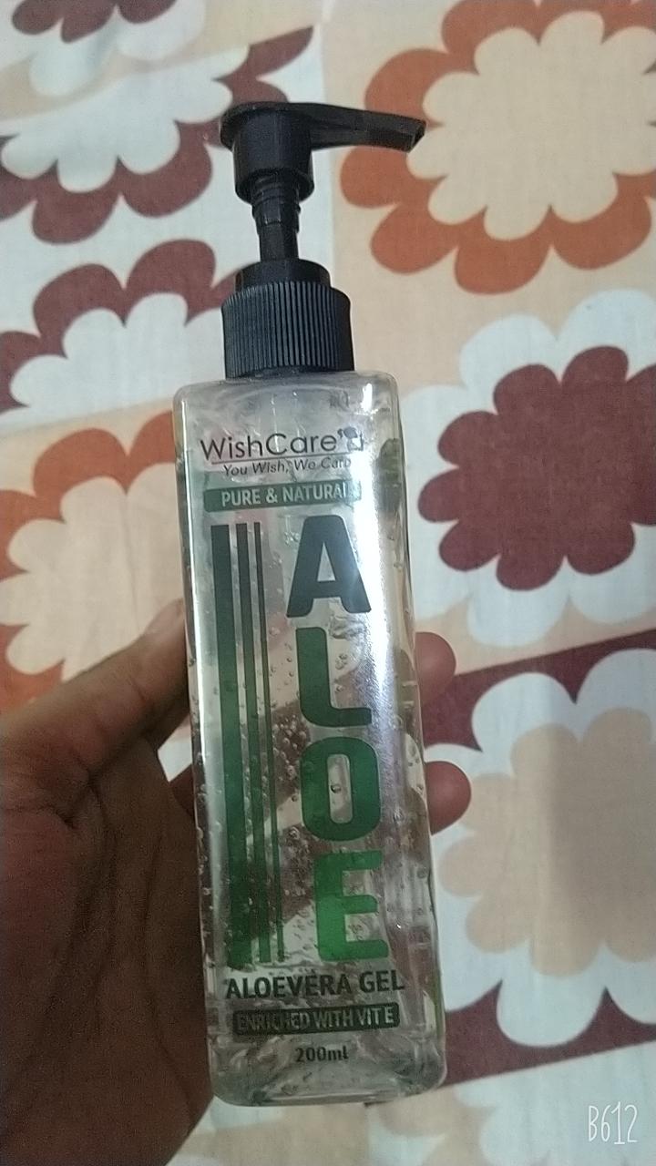 WishCare Pure & Natural Aloe Vera Gel -Amazing alovera gel-By psaha05