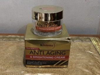 St.Botanica Pure Radiance Anti Aging & Brightening Cream -Blessing For Your Skin Care Routine-By sunandi_kapoor