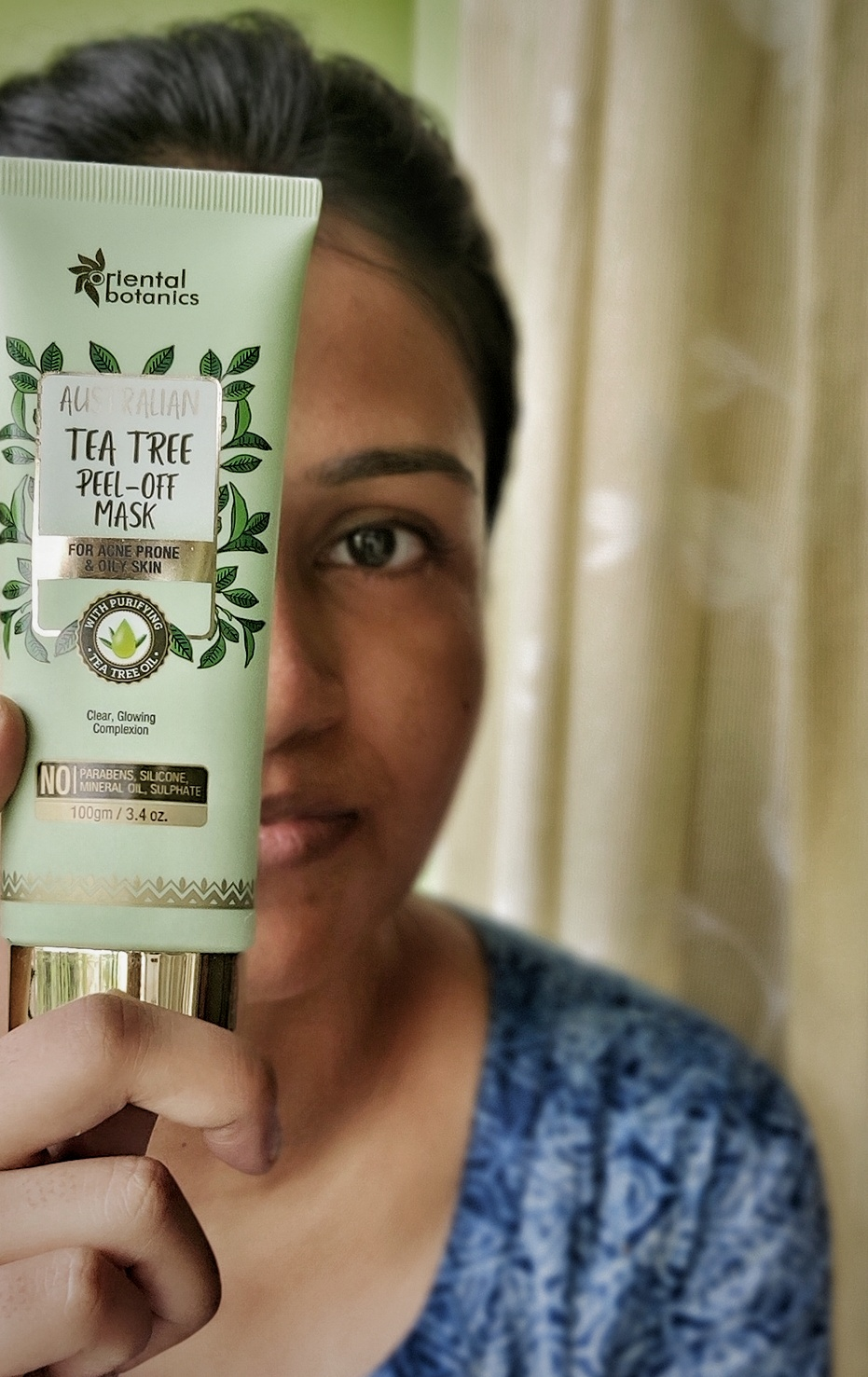 Oriental Botanics Australian Tea Tree Face Mask pic 1-Perfect for oily skin-By priya1990