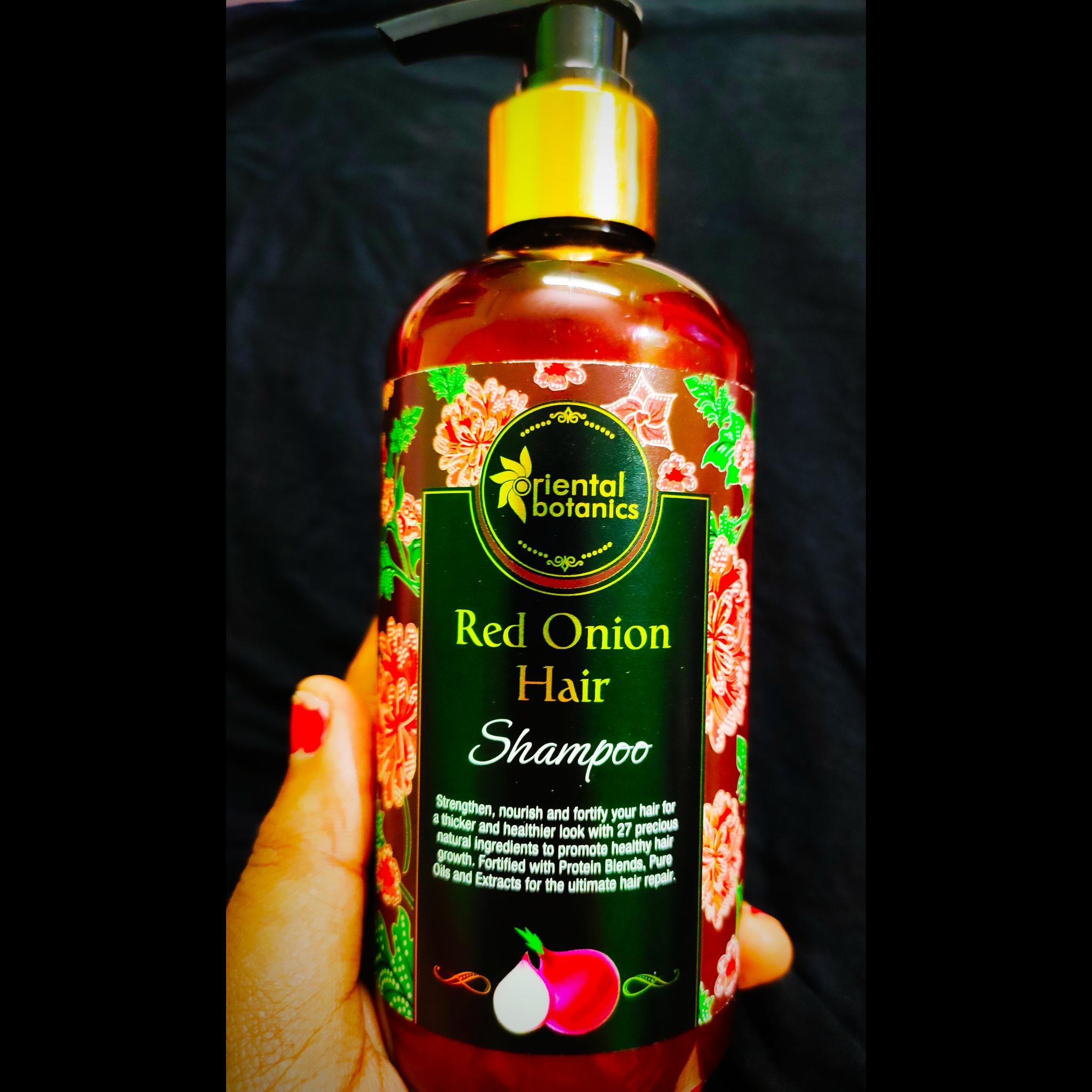 Oriental Botanics Red Onion Hair Shampoo-Amazing Shampoo for Hair Nourishment-By anushreedhar
