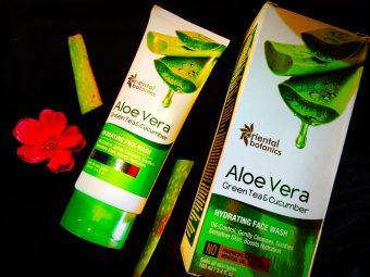 Oriental Botanics Aloe Vera, Green Tea & Cucumber Hydrating Face Wash -Amazing Hydrating Face Wash-By megha_dhar