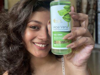 Oriental Botanics Aloe Vera, Green Tea & Cucumber Face Toner -Beautiful scent and radiating-By sangeetaapal
