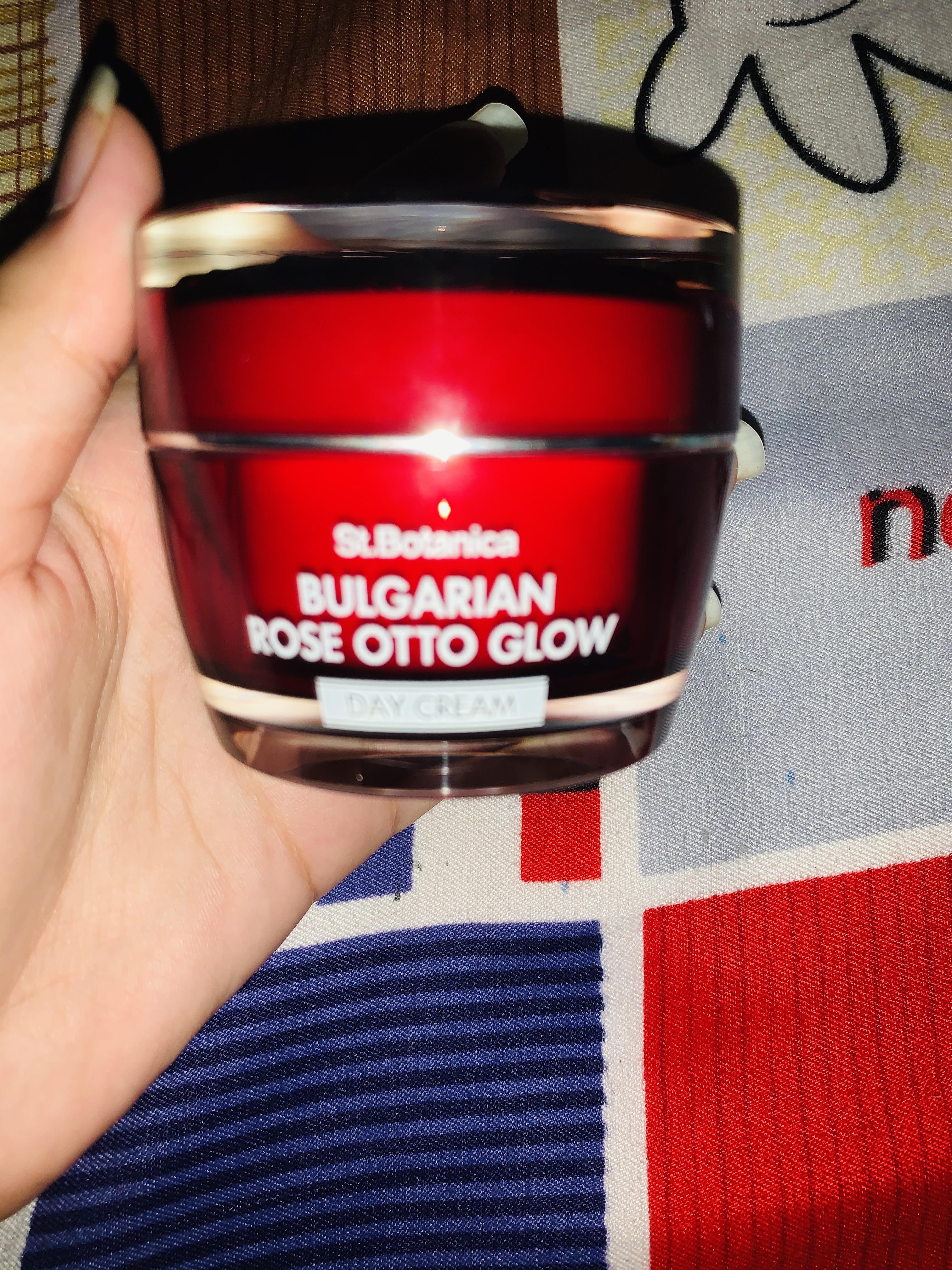 St.Botanica Bulgarian Rose Otto Glow Night Cream -Amazing product!!-By singhjhanvi