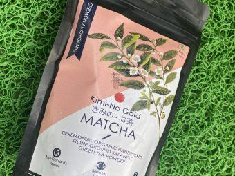 Kimino Gold Matcha Ceremonial Grade Green Tea Powder pic 2-Nice aroma and color-By uppalekta