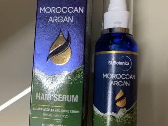 St.Botanica Moroccan Argan Hair Serum -repaired my hair-By mitusigulati