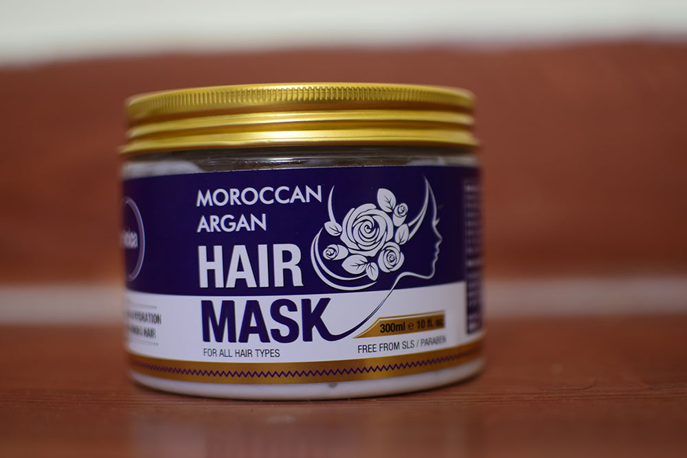 St.Botanica Moroccan Argan Hair Mask pic 4-Smooth Results-By my_dream_crescent
